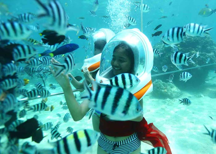 Seawalker - Activities Package in Bali