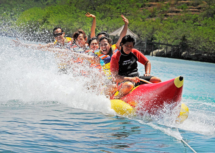 Banana Boat - Activities Package in Bali