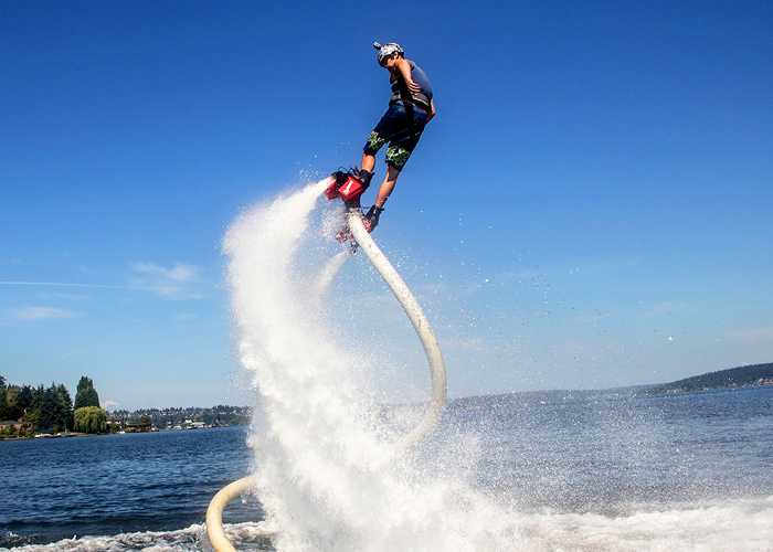Flyboard Is Fun