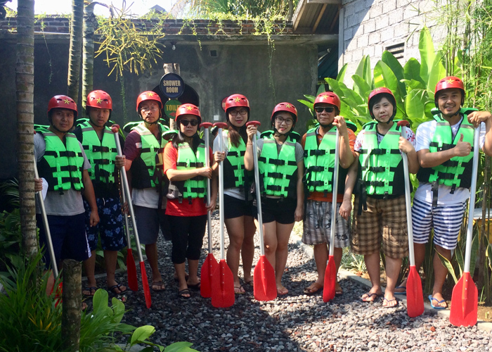 Group Ubud Rafting