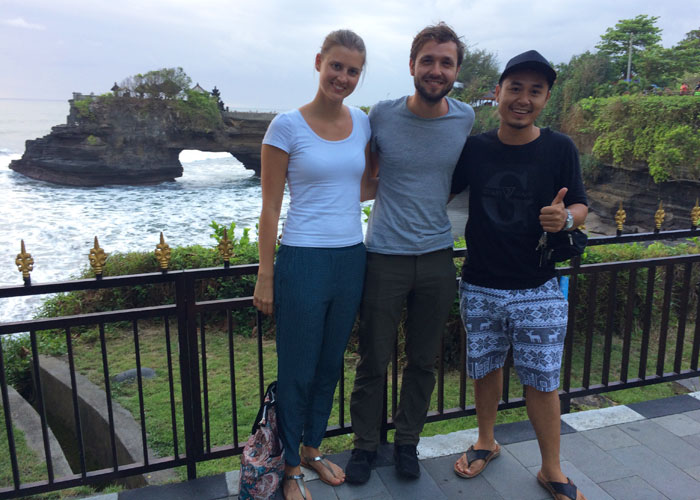 Isabele And Andrew Tanah Lot