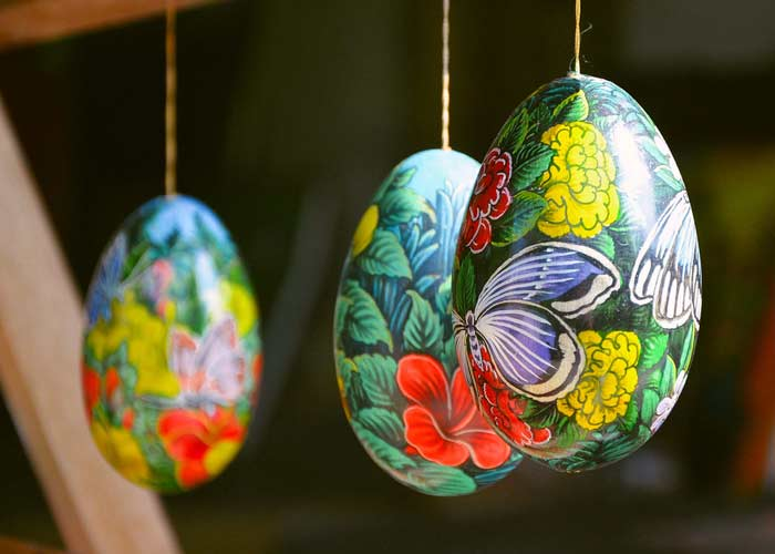 Egg Batuan Painting - Place Interest in Bali