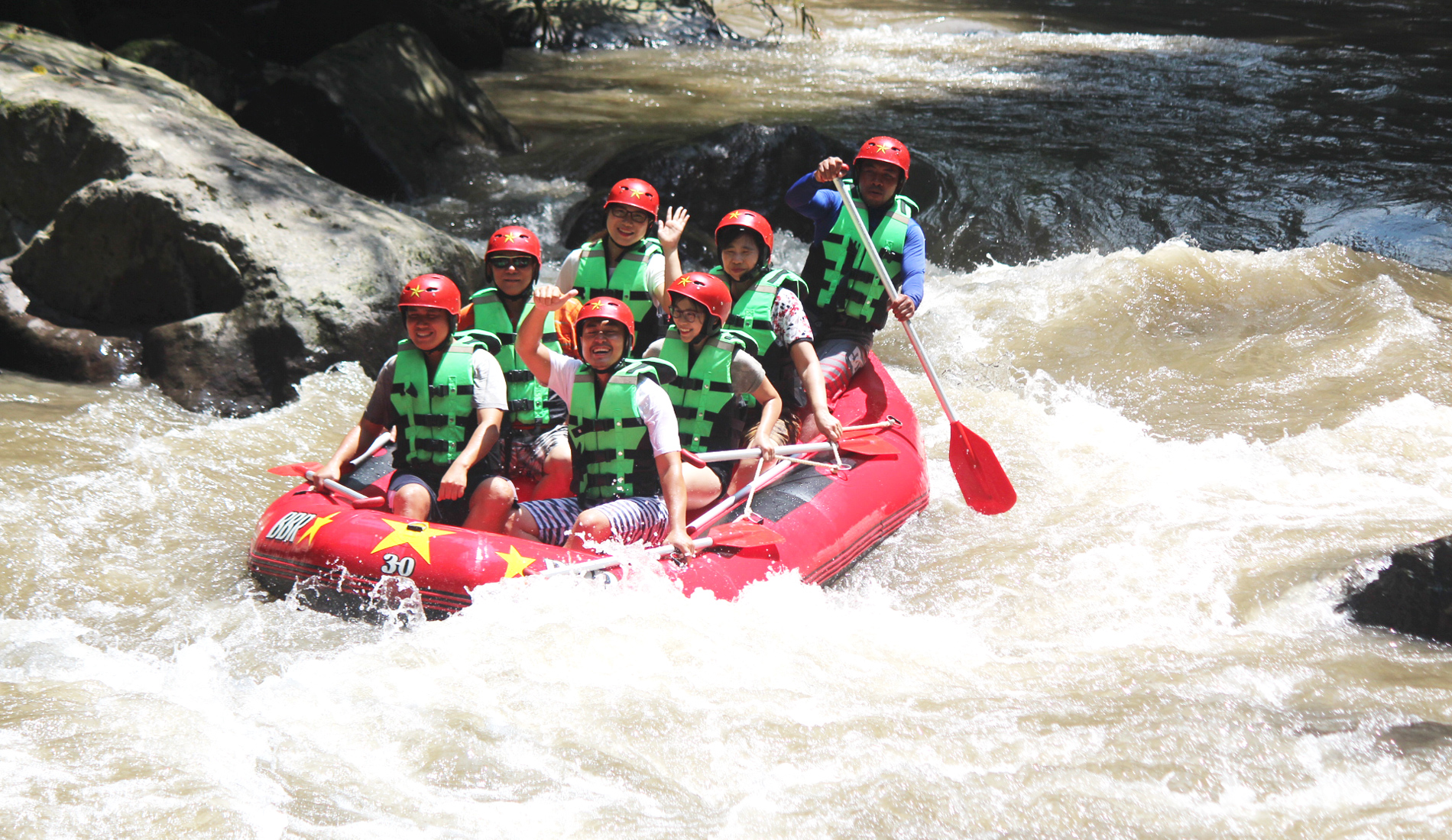 Ayung River Rafting - Bali Tours Activities