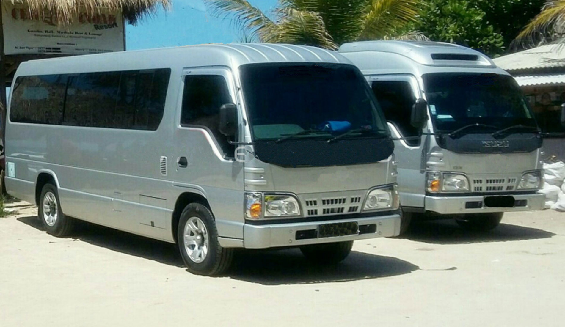 ELF Long Minibus - Bali Tours Activities