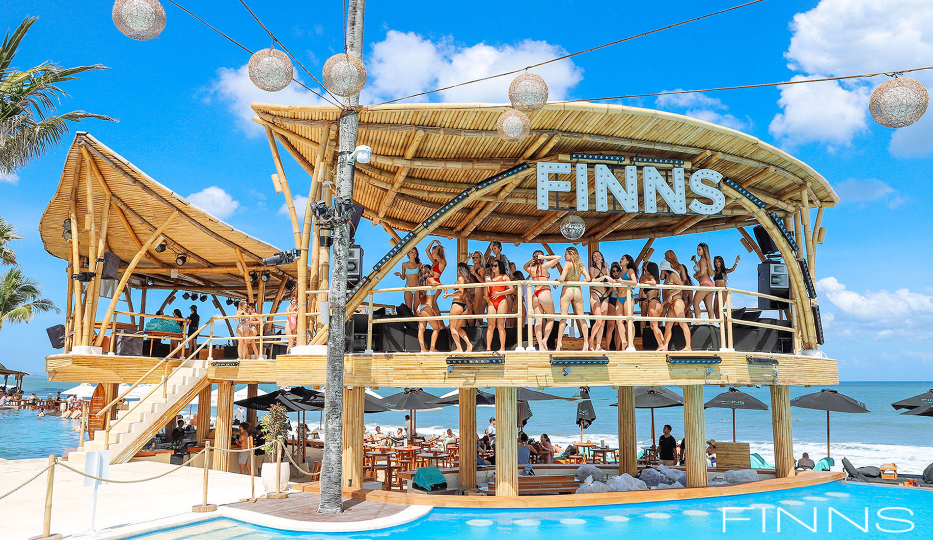 Finns Party Platform Club - Things To Do in Bali Tours Activities