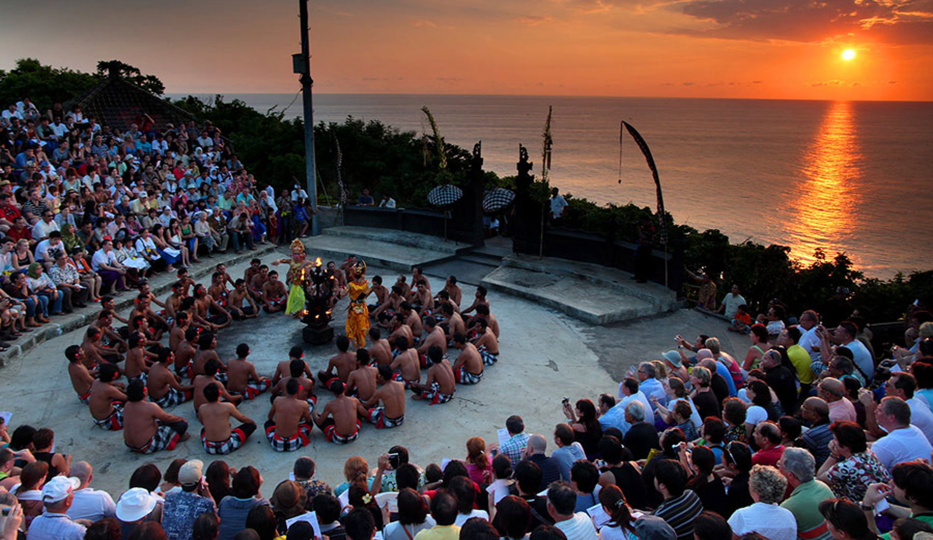 Kecak Dence Uluwatu Bali - Bali Tours Activities
