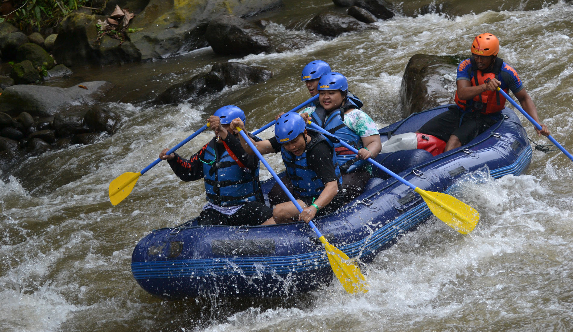 Rafting Sobek Ayung River - Bali Private Transport and Tour in Bali