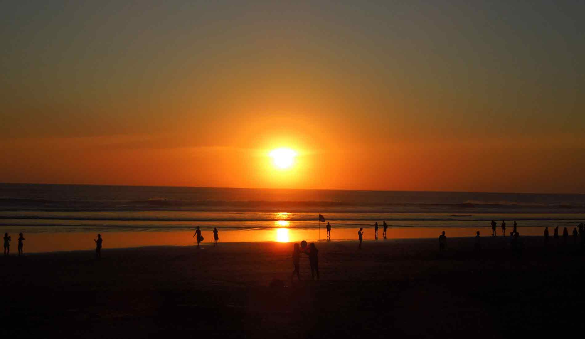 Sunset Bali Beach - Bali Tours Activities