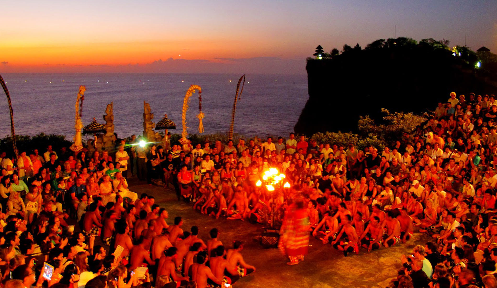 Uluwatu Kecak Dence Fire - Bali Tours Activities