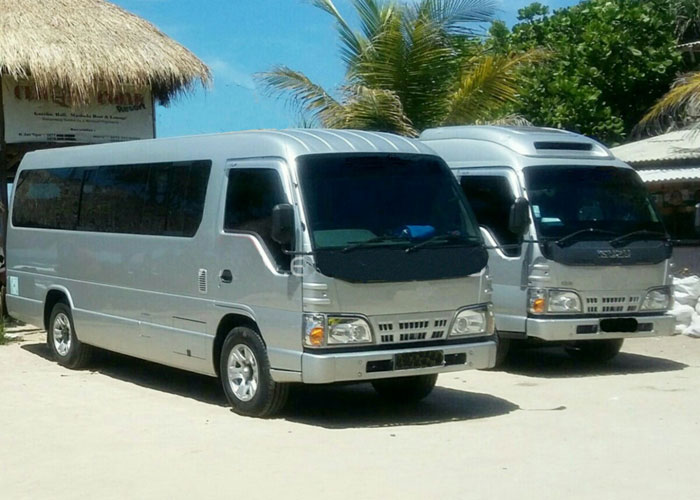 Isuzu Elf Long - Car Charter And Transfer in Bali