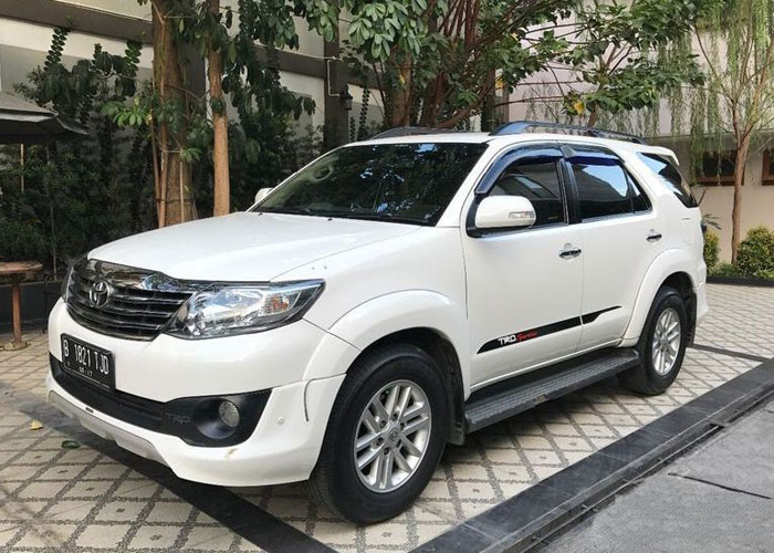 Toyota Fortuner Hire - Car Charter And Transfer in Bali