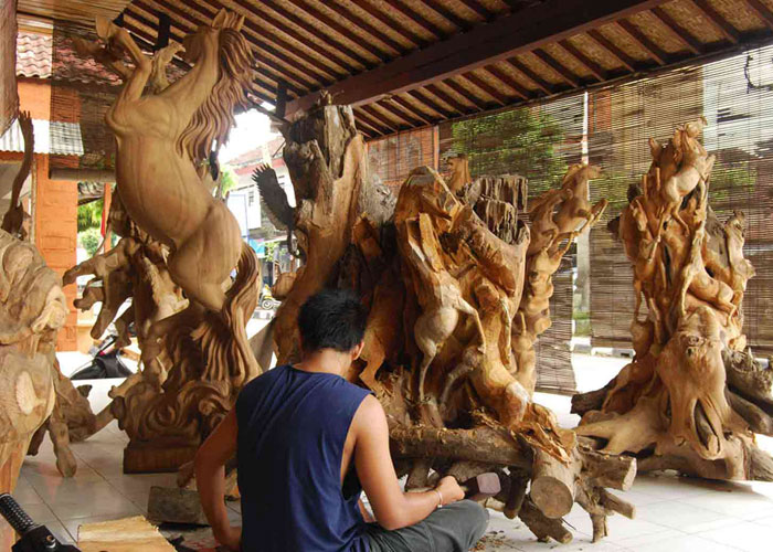 Wood Carving - Half Day Tours in Bali